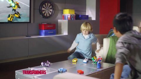 Transformers: Robots In Disguise: PUB TV Autobots Vs Decepticons