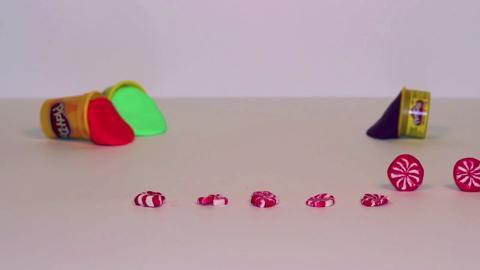 Stop Motion Peppermint Swirls