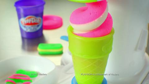 Play-Doh Perfect Twist Ice Cream Commercial