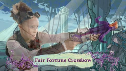 NERF Rebelle Australia Fair Fortune Crossbow