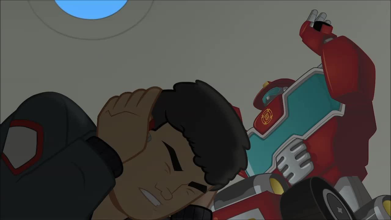 Transformers Rescue Bots - Optimus Prime's Directive