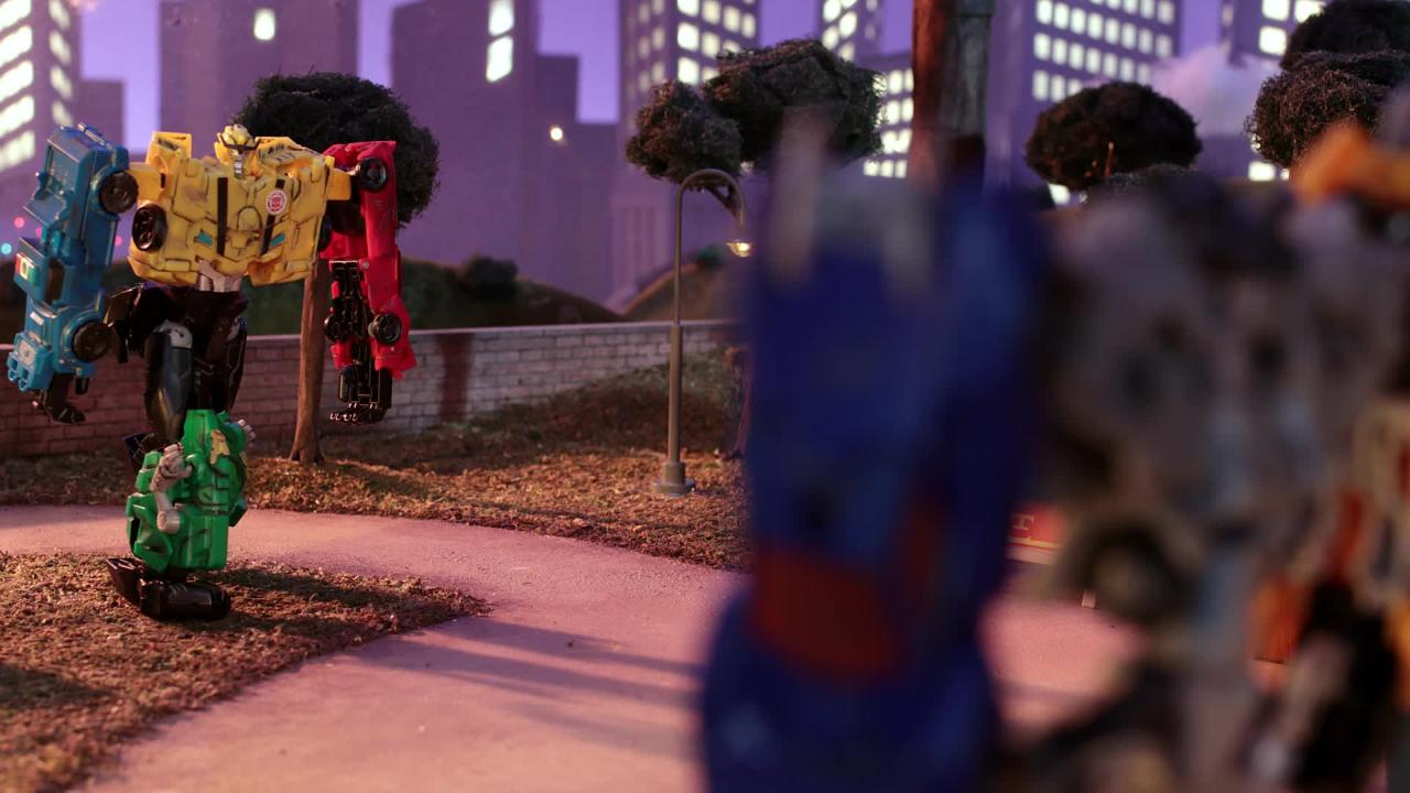 Team Combiners Stop Motion