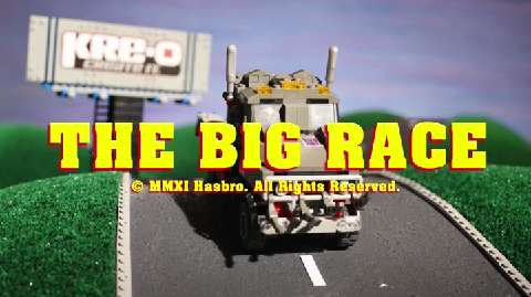 KRE-O Stop Motion: The Big Race