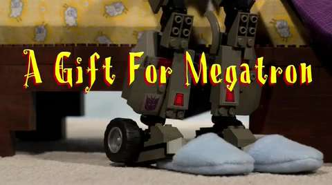 KRE-O Stop Motion: A Gift For Megatron
