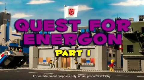 KRE-O TRANSFORMERS Stop Motion: QUEST FOR ENERGON Part 1