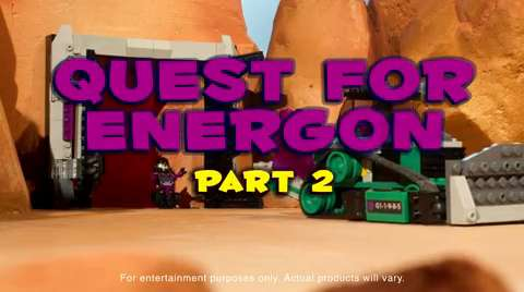 Kre-O Transformers Quest for Energon Part 2