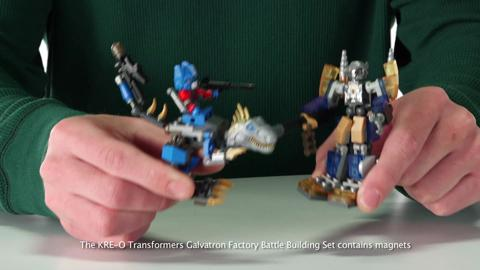 Galvatron Factory Battle