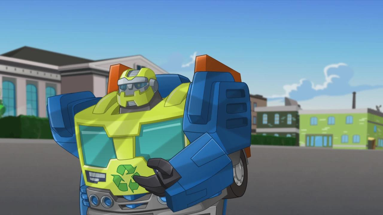 Transformers: Rescue Bots - Meet Salvage