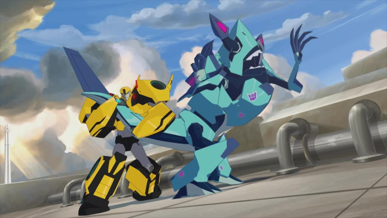 Transformers: Robots in Disguise - Meet Bumblebee