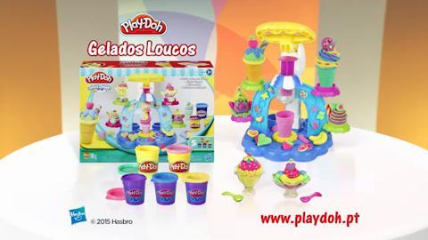 Play-DOH GELADOS + CAMION