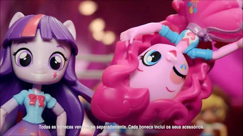 'Equestria Girls Minis' Televisão Comercial