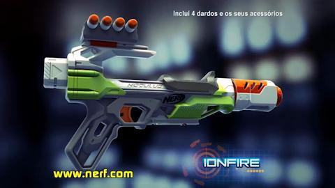 NERF Modulus Recon MKII + Ionfire PT
