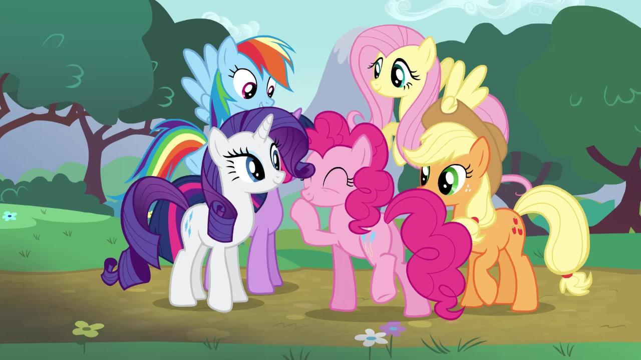 Die My Little Pony Ponyfreunde und Überraschungsponys