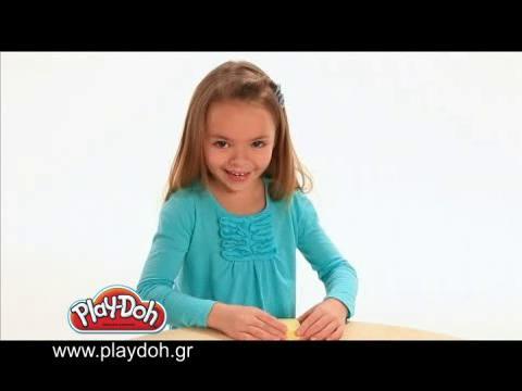 ΚΟΙΤΑ ΤΙ EΦΤΙΑΞΑ – ΚEΙΚ ΤΟYΡΤΑ PLAYDOH