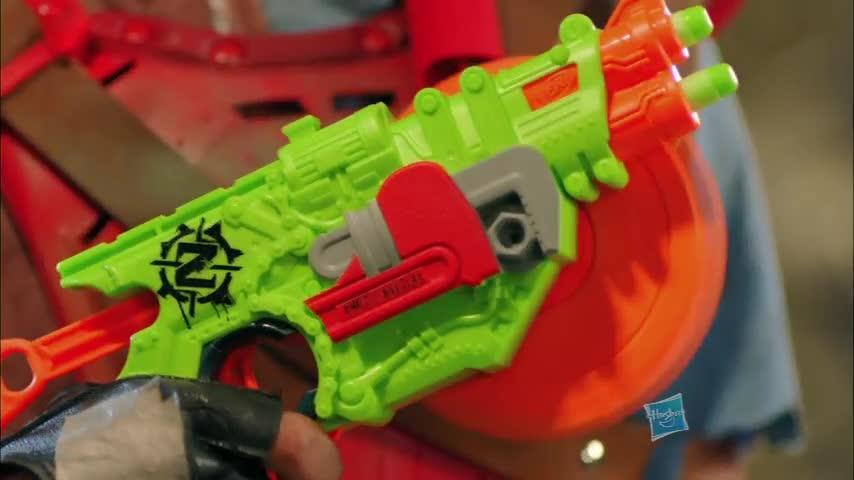 Nerf Zombie Brainsaw + Crosscut