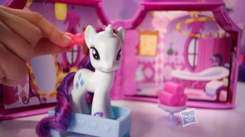 Comercial de TV Booktique de Rarity