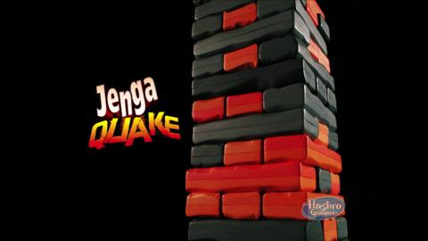Comercial de TV Jenga Quake