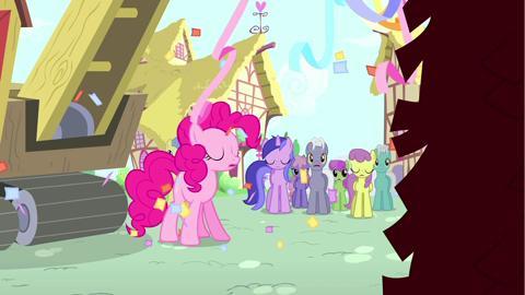 PinkiePie: representa el espíritu de la RISA