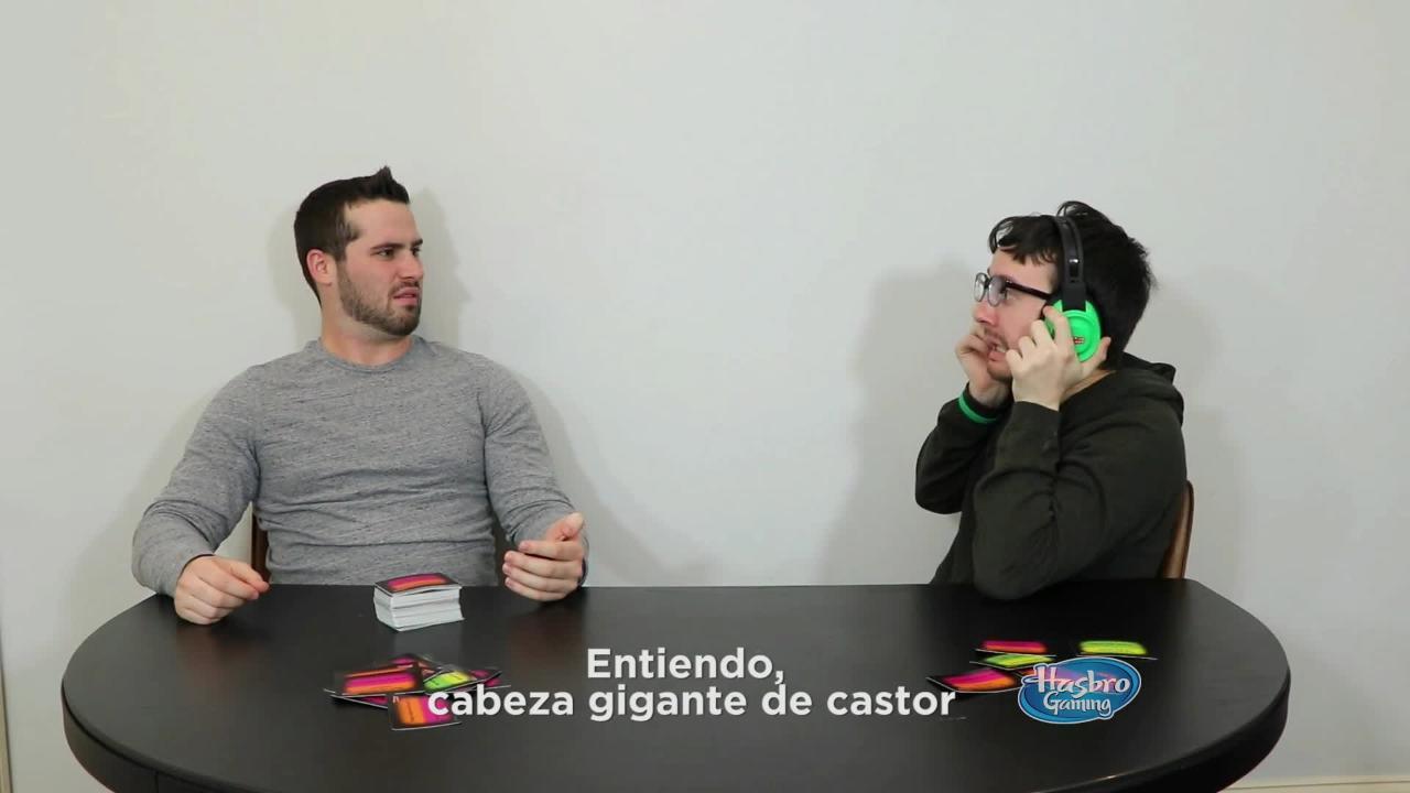 Hasbro Gaming Latino América - A ver si adivinas
