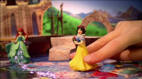 Comercial de TV Nuevo Juego Castillo Mágico De Princesas Disney