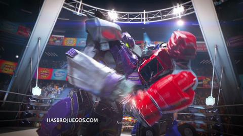 Comercial de TV Transformers Battle Masters