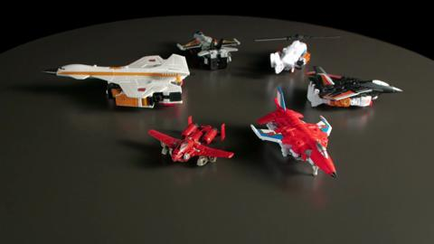 Combiner Wars Menasor & Superion - Designer Desk