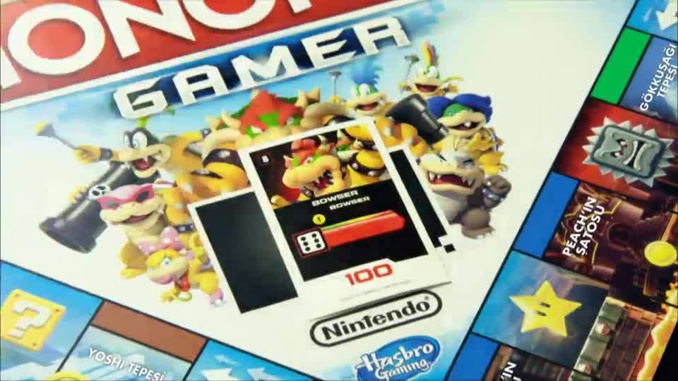 Hasbro Gaming Monopoly Gamer TV Reklamı