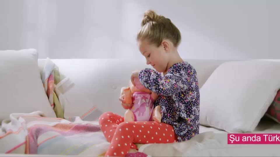 Baby Alive Emekleyen Bebeğim TV Reklamı