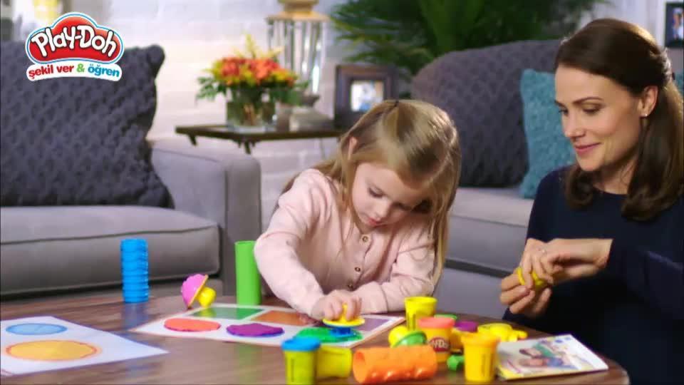 Play-Doh Şekil Ver & Öğren TV Reklamı