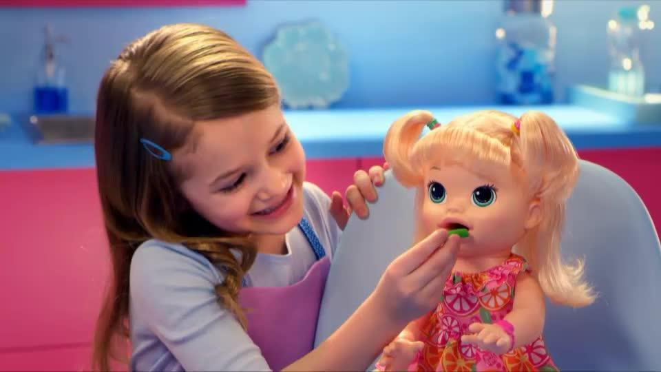 Baby Alive Maya ile Mama Zamanı TV Reklamı