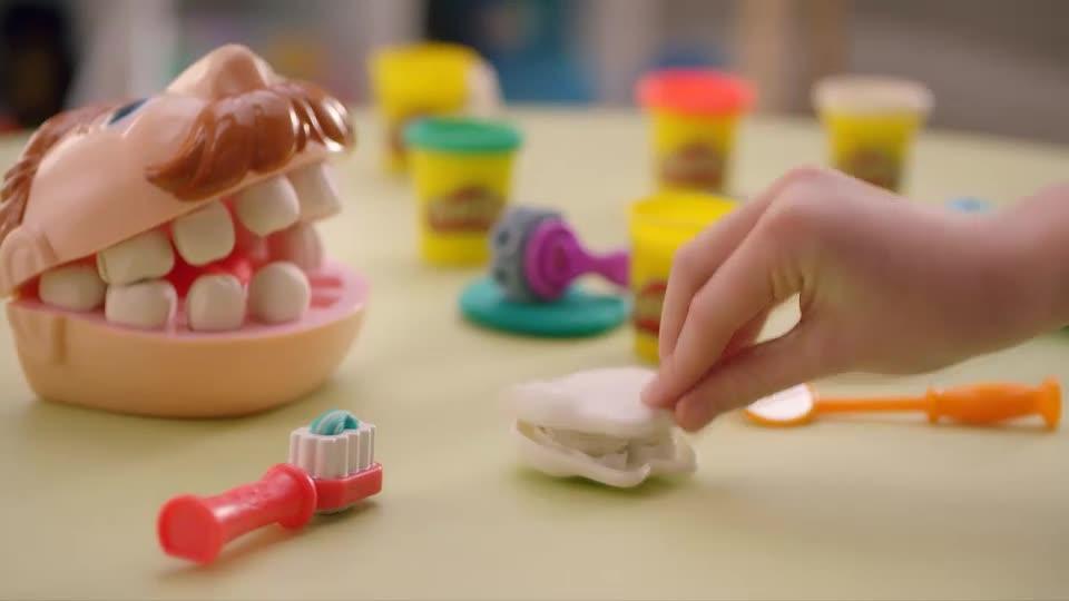Play-Doh Dişçi Seti TV Reklamı