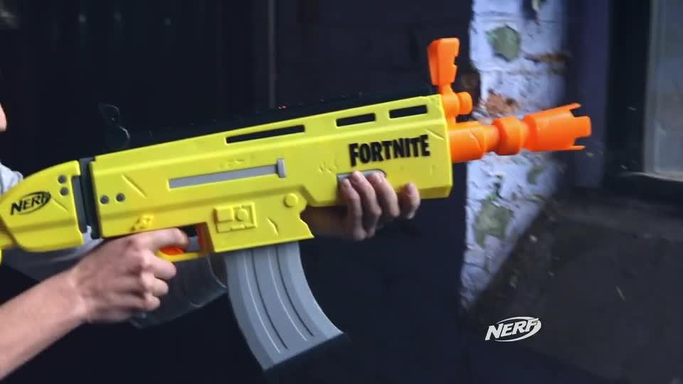NERF Fortnite AR-L TV Reklamı (İngilizce)
