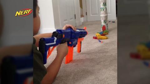 Nerf Perfect video challenge-2