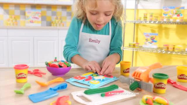 PLAY-DOH KITCHEN CREATIONS - SISTERGŐ TŰZHELY