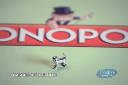 Monopoly Latino América Comercial de TV 'Les presentamos la nueva ficha de gato!'