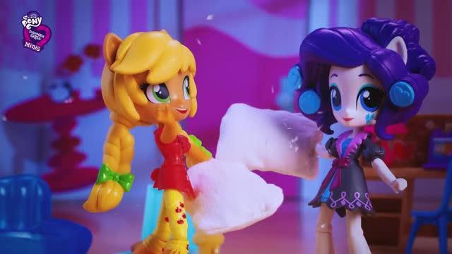 MLP Equestria Girls Minis - Pijamada de Pinkie Pie
