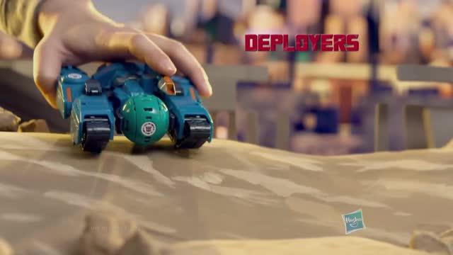 Transformers- RID Latino América - Cyclone Mini-Con Deployers Comercial de TV