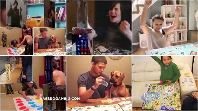 Vive Tu Juego: Clásicos de Hasbro Gaming Comercial de Televisión