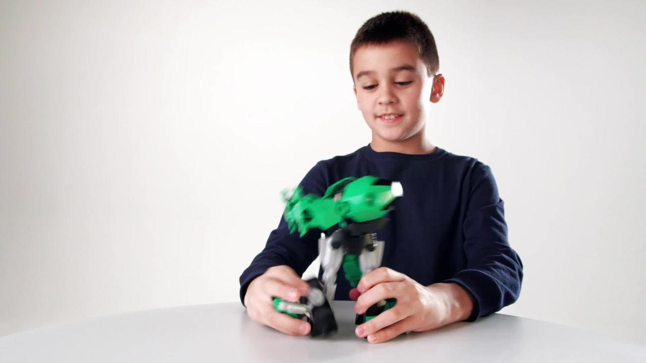 Transformers Robots in Disguise Product Demo