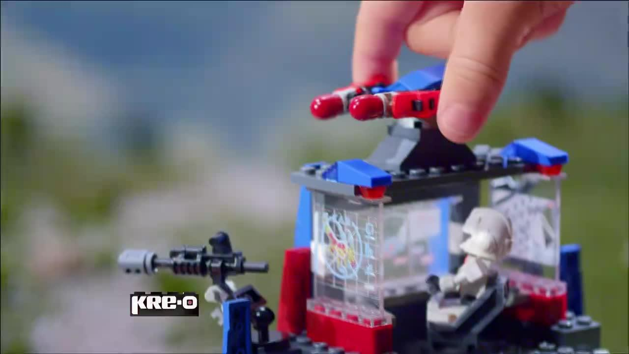 KRE-O TRANSFORMERS BEAST HUNTERS AUTOBOT COMMAND CENTER TV COMMERCIAL