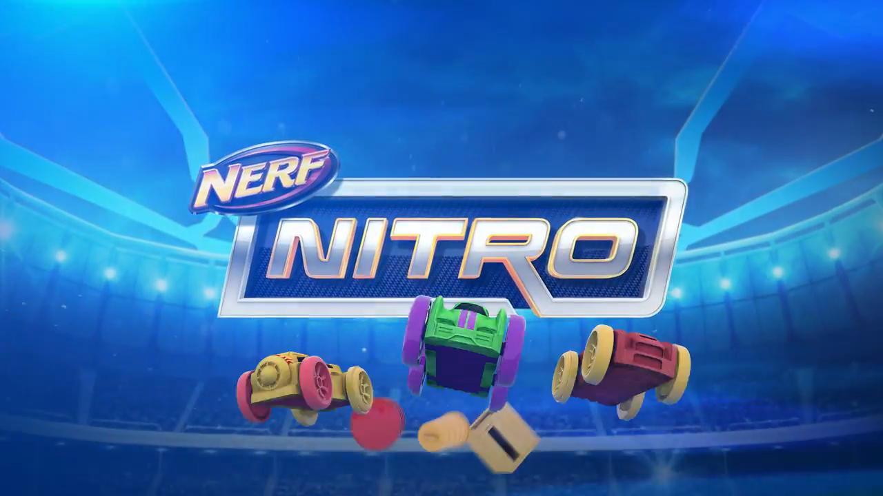 NERF NITRO MOTOFURY RAPIDRALLY - TV-SPOT