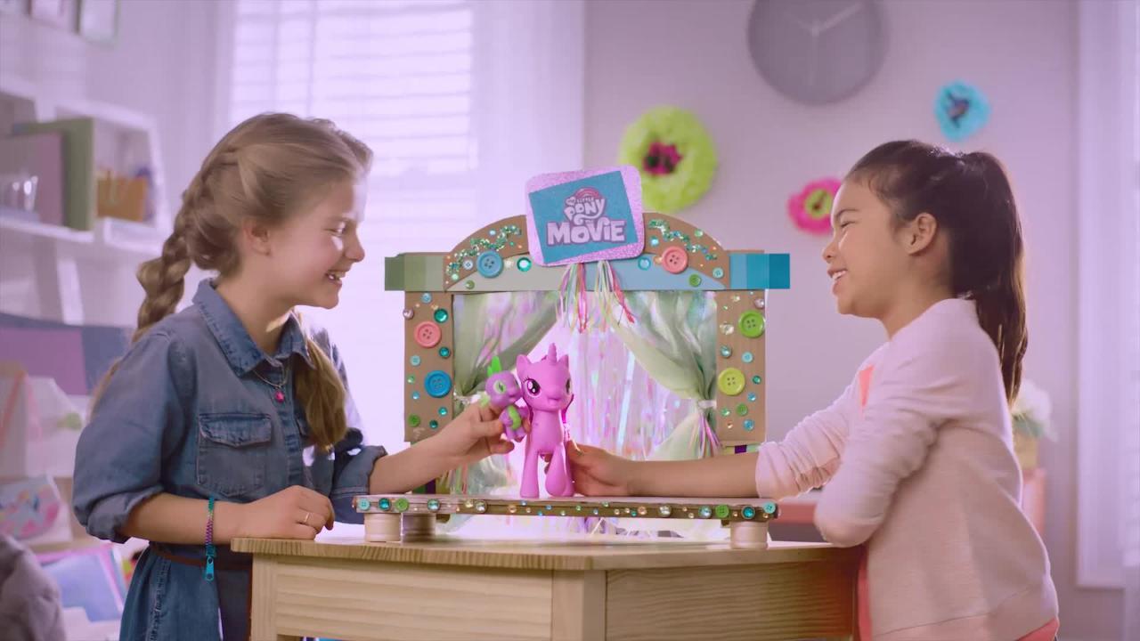 My Little Pony Movie Prinzessin Twilight Sparkle & Spike, der Drache Singendes Duo - TV-Spot