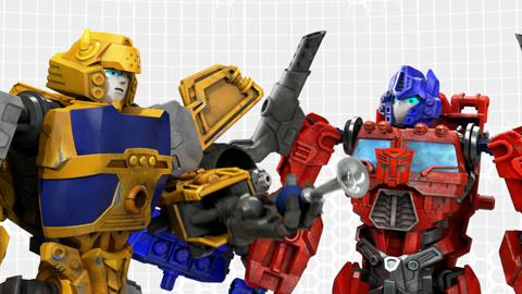 Transformers Construct-Bots: Bumblebee Speaks!