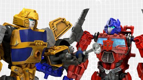 Transformers Construct-Bots: Bumblebee Speaks!