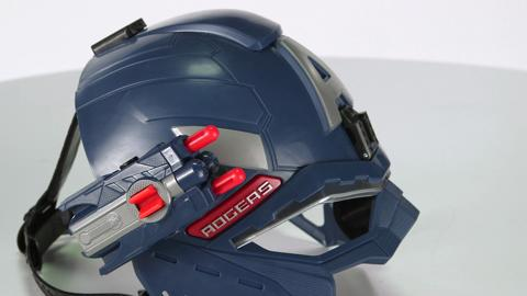 Captain America Super Soldier Gear Helmet Demo