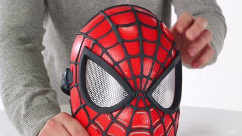 Spider-Man Spider Vision Electronic Mask Demo