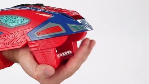Spider-Man Motorized Spider Force Web Blaster Demo