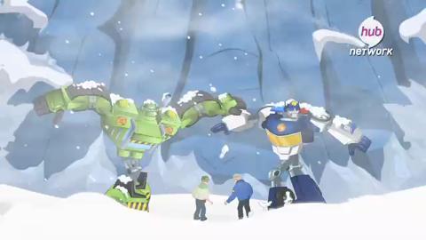 Rescue Bots Season 2 Premiere (Promo) - Hub Network