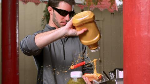 NERF Perfect Shots - Hold the Mustard