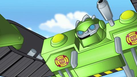 Transformers Rescue Bots: Meet Boulder